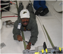 BC testing reduced gravity hardware