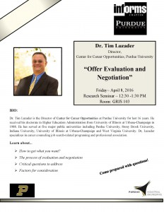 April 08-Offer Evaluation and Negotiation""