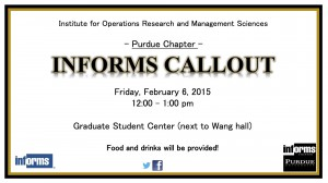 Graduate Student Center 12 - 1 pm, Feb. 6th Friday