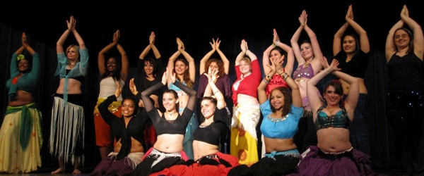 Mirage Bellydancers group photo from Fall '12.