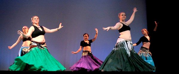 Another Mirage Bellydancers stage performance.