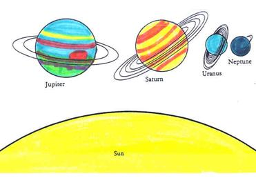 what four planets have rings - photo #27