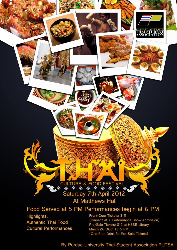 Poster of Thai Night 2012