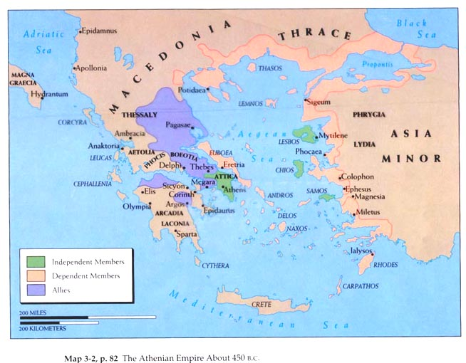 an introduction to the history of the athenian empire