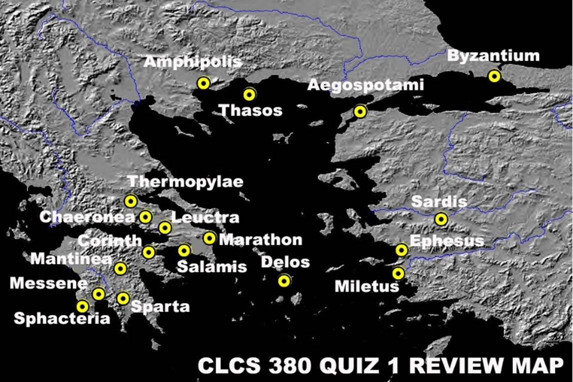 Clcs 380 Review Sheet I Fourth Century Greece